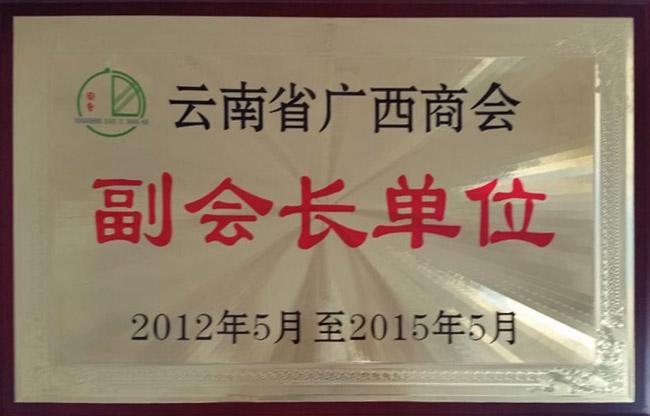 云南省广西商会副会长单位
